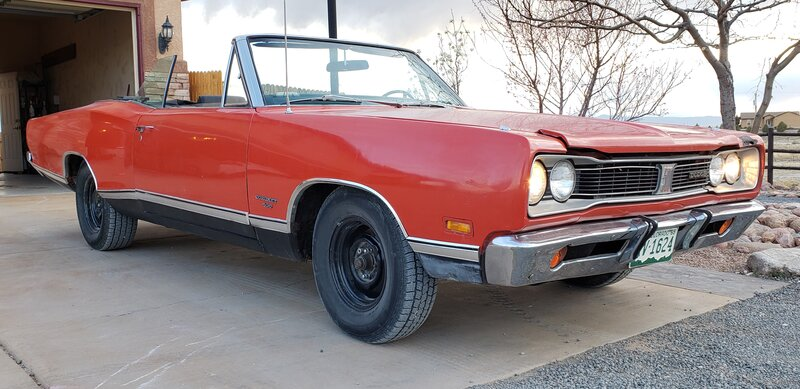 FOR SALE - 1969 Coronet 500 convertible 383-4 Auto | For B ...