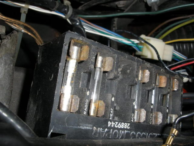 Need 1968 Rr Fuse Box Location Pics