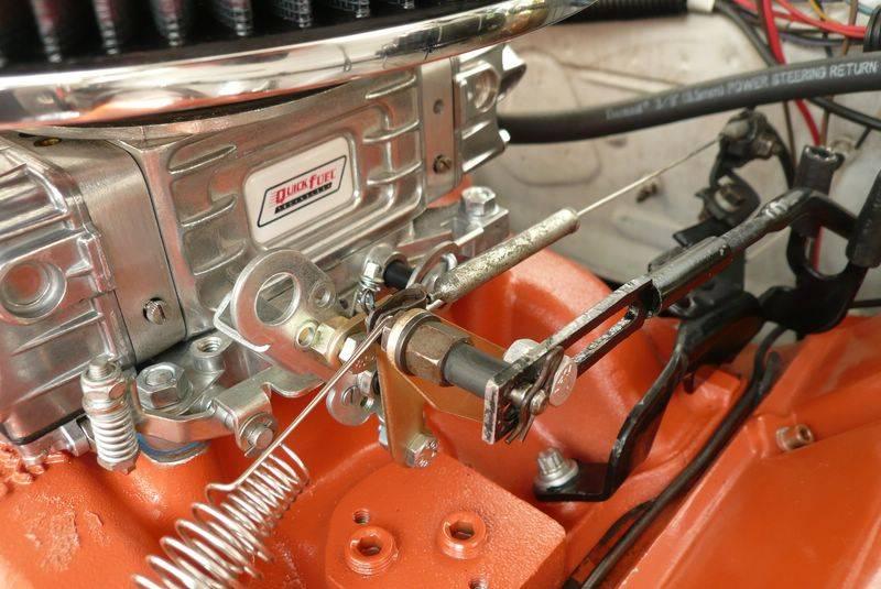 Edelbrock Performer Intake Vs 727 Push Button Kickdown