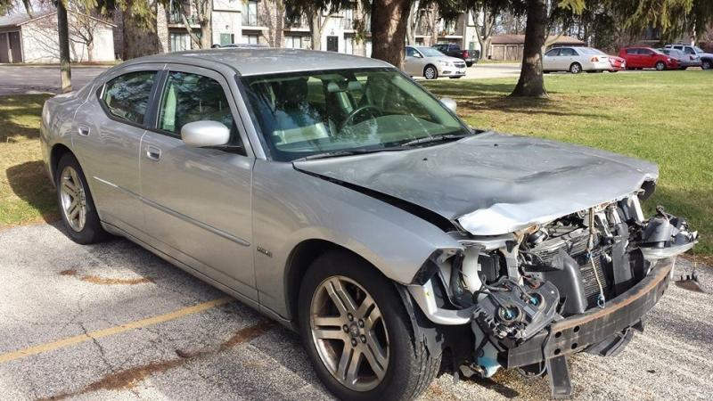 FOR SALE - 2006 Hemi Dodge Charger RT (wrecked) | For B ...