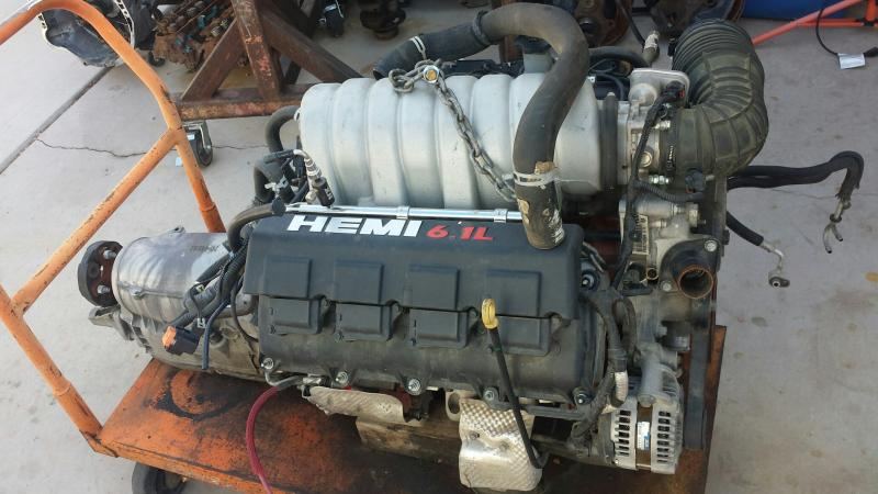 For Sale 6 1 Hemi Srt8 Engine And Trans For B Bodies