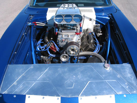 68 Charger Daytona Clone Ron Jenkins Magnum Force Racing Blown Hemi engine.jpg