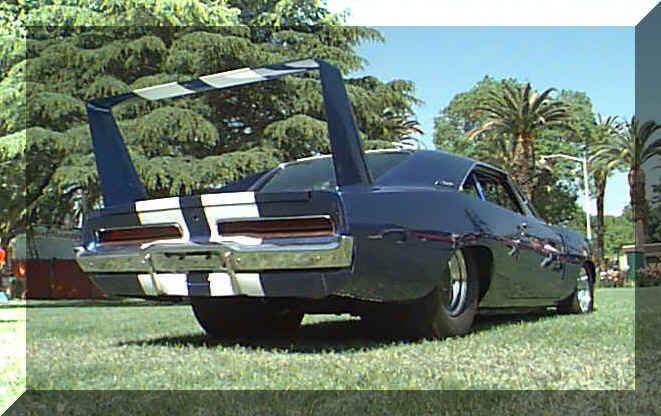 68 Charger Daytona Clone Ron Jenkins Magnum Force Racing rear view.jpg