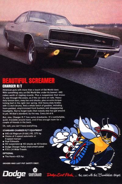 68 Charger RT Advert. #17 Beautiful Screamer.jpg