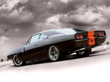 68 Charger RT Pro-Touring Black Bonspeed 70 door scoops.jpg