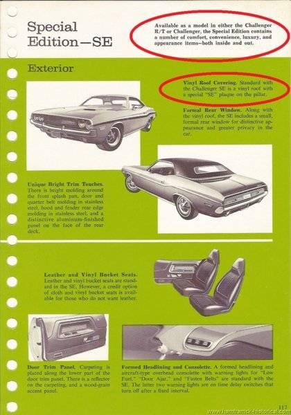70 Challenger SE Package highlighted.jpg