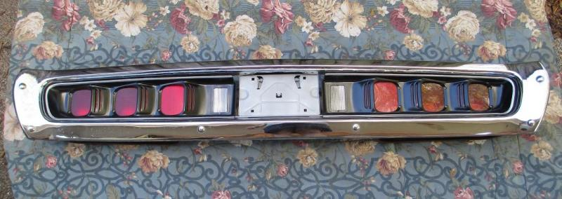 Car Tail Lights >> SOLD - 1971 Charger RT bumper and tail lights. | For B