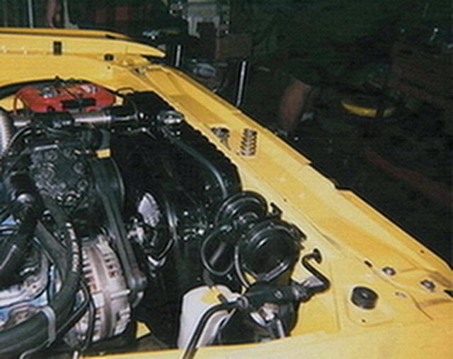 72 Dart Swinger-new radiator & shroud & NOS 1984 Mazda RX7overflow system-2005.jpg