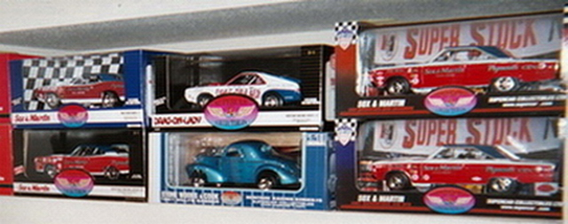 A couple of the1 18th scale diecast race cars.jpg