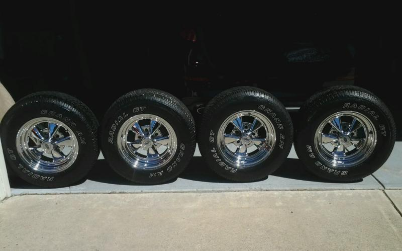 For Sale Cragar Rims Tires For B Bodies Only Classic