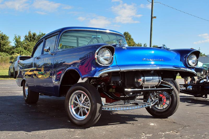 For Sale 57 Chevy Gasser For B Bodies Only Classic