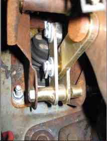 Brake Question On Master Cylinder Pushrod Pedal Linkage
