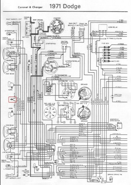 71 Charger Wiring Diagram Help