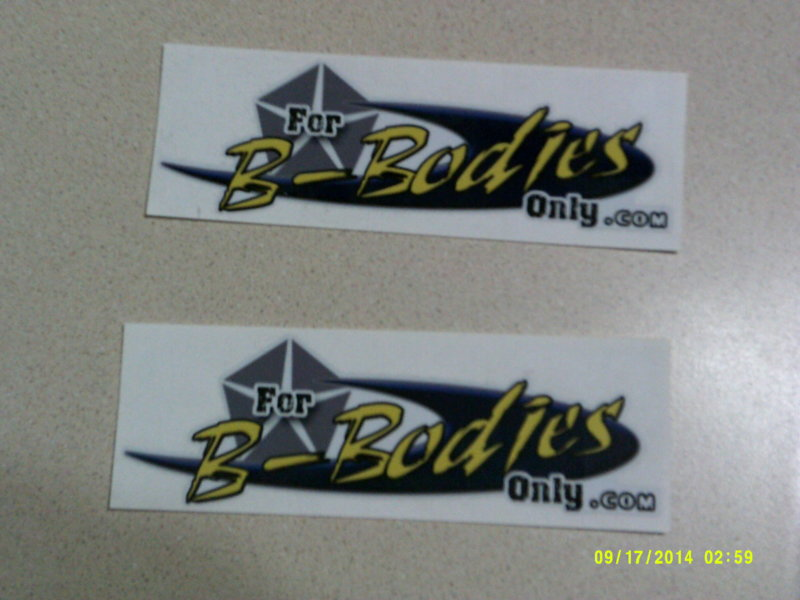 Budnicks Gold Membership FBBO Stickers.JPG