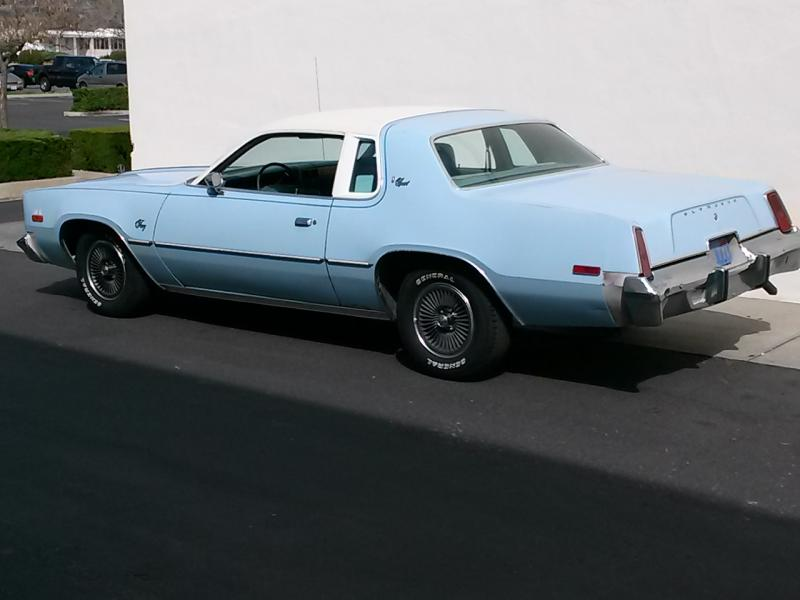 Sold 1977 Plymouth Fury Sport For Sale For B Bodies