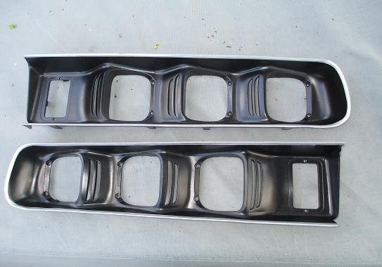 Sold 1971 1972 Charger R T 500 Rallye Tail Light Bezels