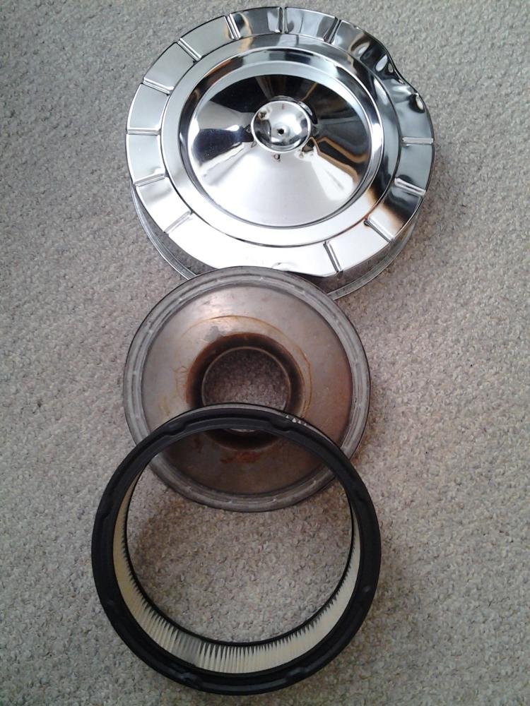 For Sale Oem Mopar 426 Street Wedge Chrome Air Cleaner