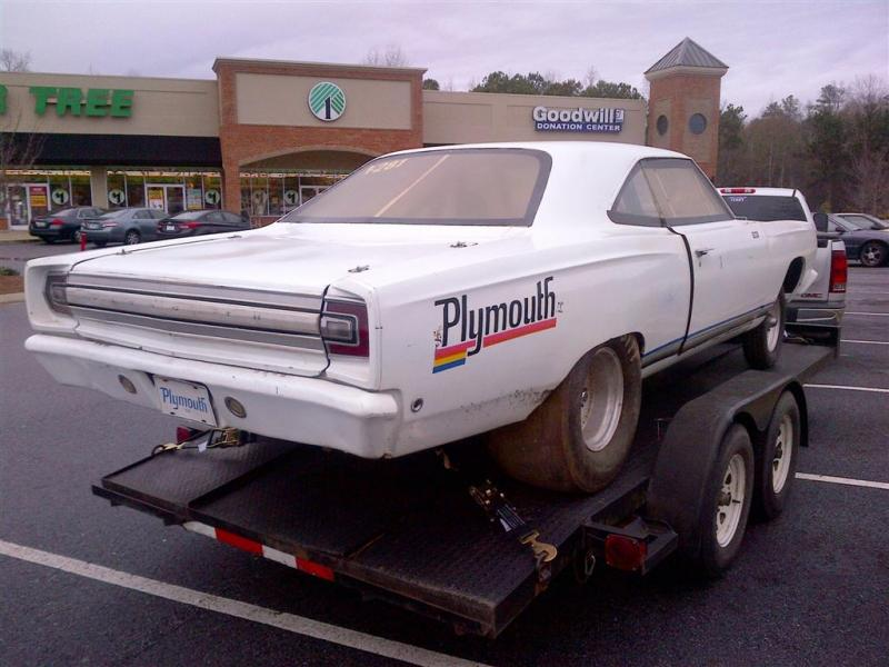 For Sale 1968 Roadrunner Drag Car Roller For B