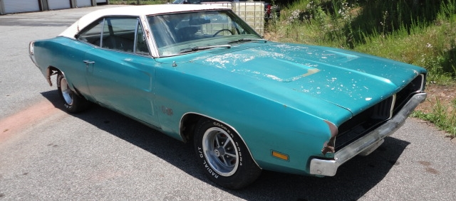 FOR SALE - 1969 Dodge Charger RT 440 auto Q5 turquoise ...