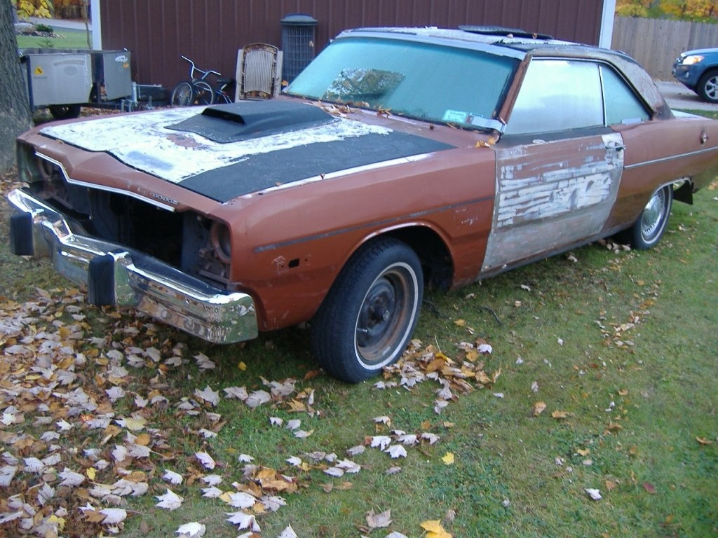 For Sale 73 74 Dodge Dart Swinger Parts B Bodies Only Under Dash Wiring Harness Nice 100 Engine 6 Various Other Lcas Strut Rods And The Like Also Have A Good Tag Title With