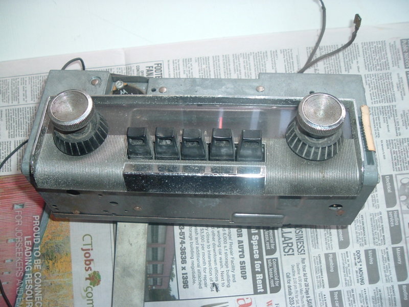 FOR SALE - 1963 ply radio | For B Bodies Only Classic Mopar