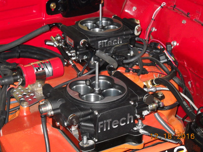 What distributor with FiTech EFI? | For B Bodies Only Classic Mopar