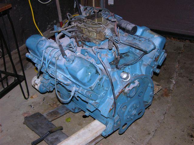 mopar 440 motorhome engine