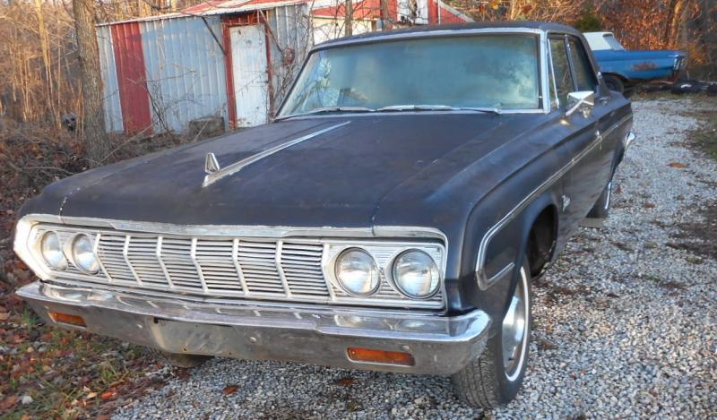 For Sale 1964 Plymouth Belvedere Parts Car For B Bodies Only Classic Mopar Forum