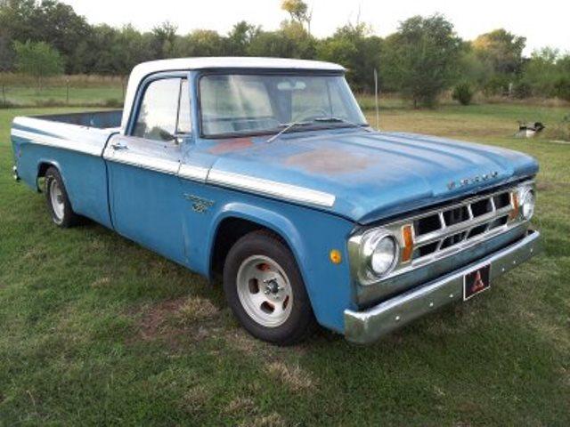 Dodge D100 For Sale >> SOLD - 1968 Dodge D100 LWB pickups in OK | For B Bodies