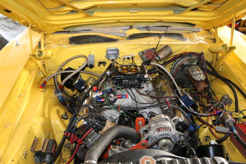 FiTech Go EFI 8 - 1200 HP, #30012 on Charger project | For B Bodies