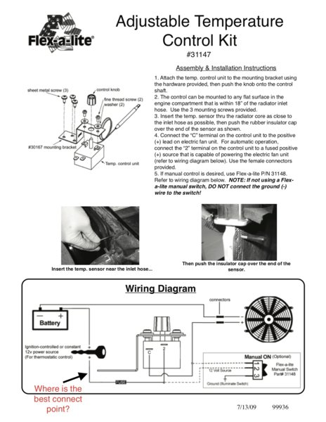 adjustable electric fan wiring diagram wiring an electric fan i am a novice with electrical for b  wiring an electric fan i am a novice