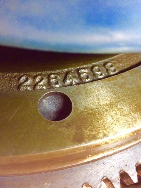 Flywheel Identification internal verses external balance