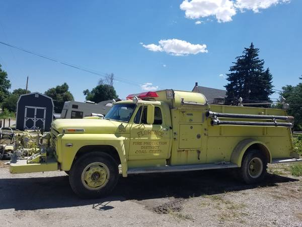 Who wants an old fire truck?   For B Bodies Only Classic ...