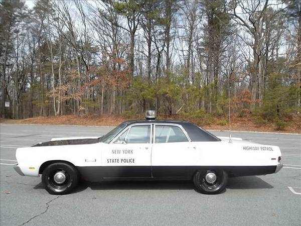 FOR SALE- CL- NOT MINE- 1969 plymouth fury police car ...