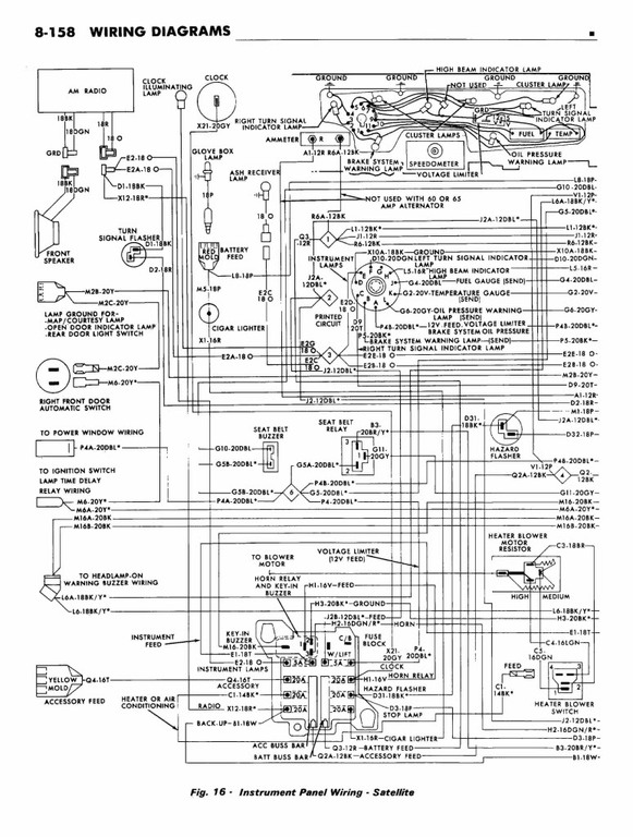 1968 plymouth road runner wiring diagram electrical wiring diagram 1968 Plymouth Satellite