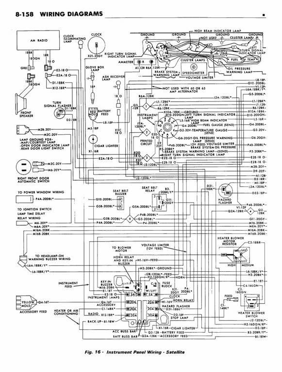 72 Standard Dash Wiring Diagram