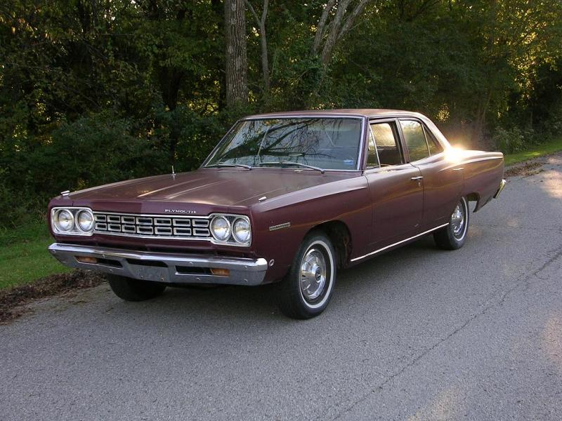 Sold 1968 Plymouth Belvedere 4 Door For B Bodies Only