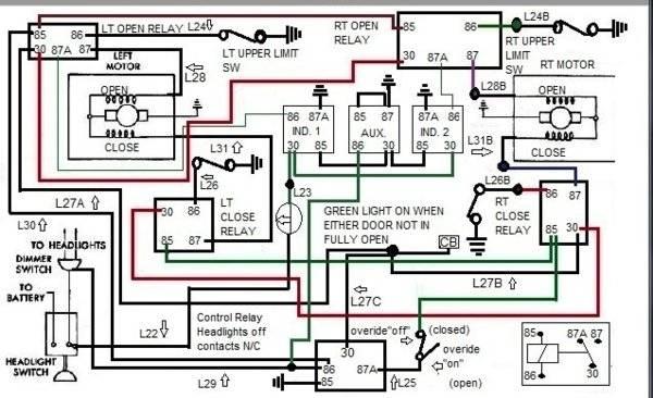 [DIAGRAM_34OR]  Rotating Headlight relay modification. | For B Bodies Only Classic Mopar  Forum | 1966 Dodge Charger Headlight Wiring Diagram |  | For B Bodies Only Mopar Forum
