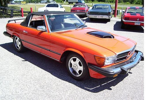 Hemi+426+Mercedes+Benz+convertable+car+in+orange.jpg