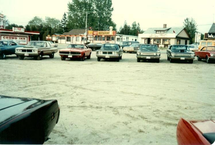 Hemi Cars - Front Shot - Sauble Beach 1980.jpg