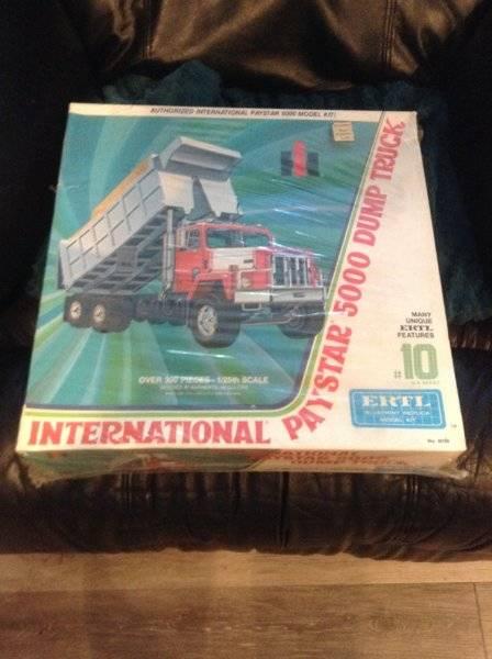 FOR SALE - ERTL International Paystar 5000 dump truck model