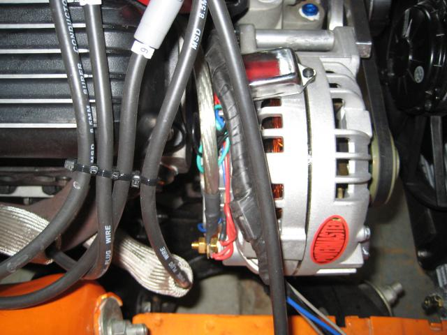 1 Wire Alternator    Msd