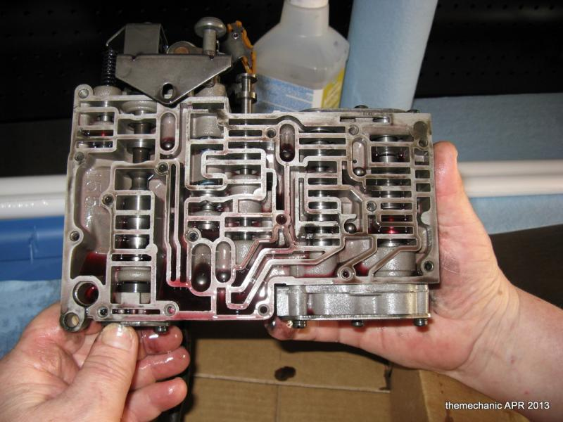 727 valve body disassembly photos   For B Bodies Only