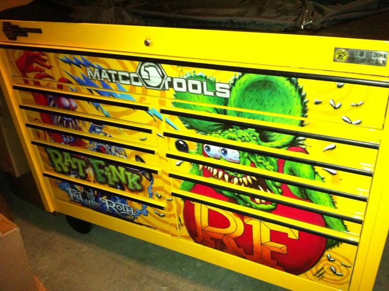 Cars For Sale In Colorado >> FOR SALE - Matco RAT FINK! tool box..the original from ...