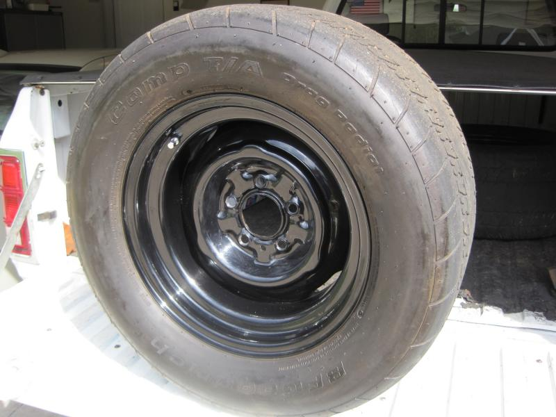 Sold 15x8 Steel Wheels Amp Bfg Street Slicks For B