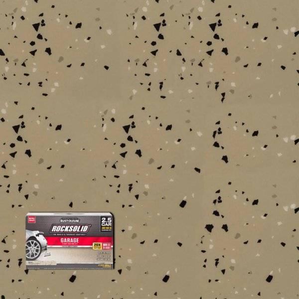 Rust Oleum Rocksolid Floor Coating Reviewed For B
