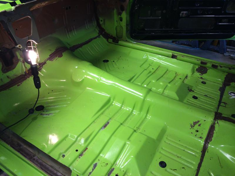 Floor Pan Seam Sealer Help For B Bodies Only Classic