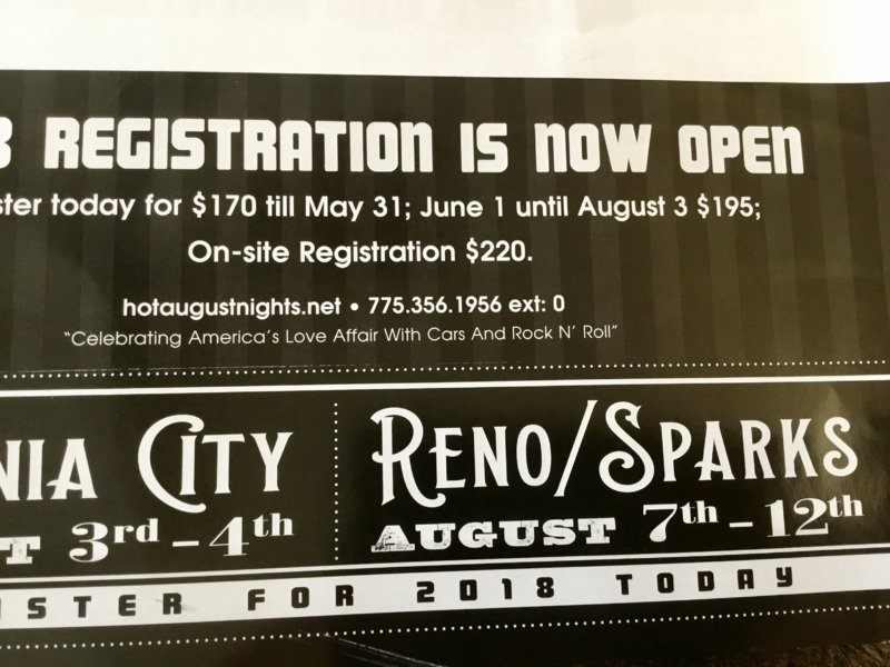 Hot August Nights RenoSparks Nevada Aug For B Bodies - Reno nevada car show 2018