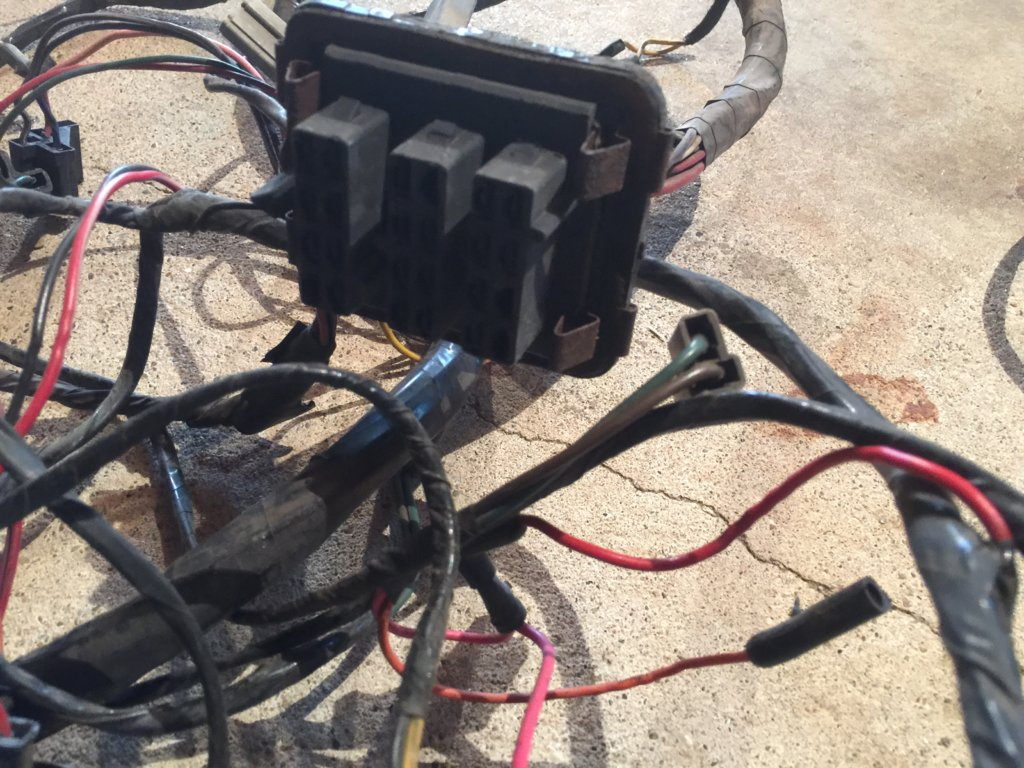 Where Is The Wiring Harness Located