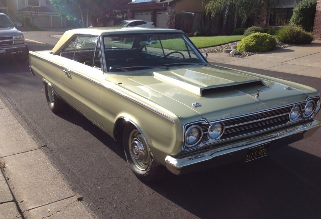 FOR SALE - 1967 Plymouth Belvedere | For B Bodies Only